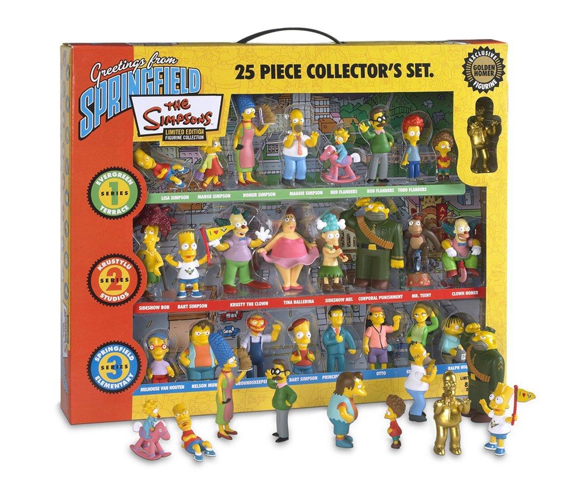 Los Simpsons - 25 piezas Edición de Coleccionista