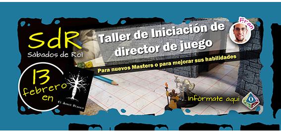 Taller Iniciacion de director de juego - Fran Jesus-LT